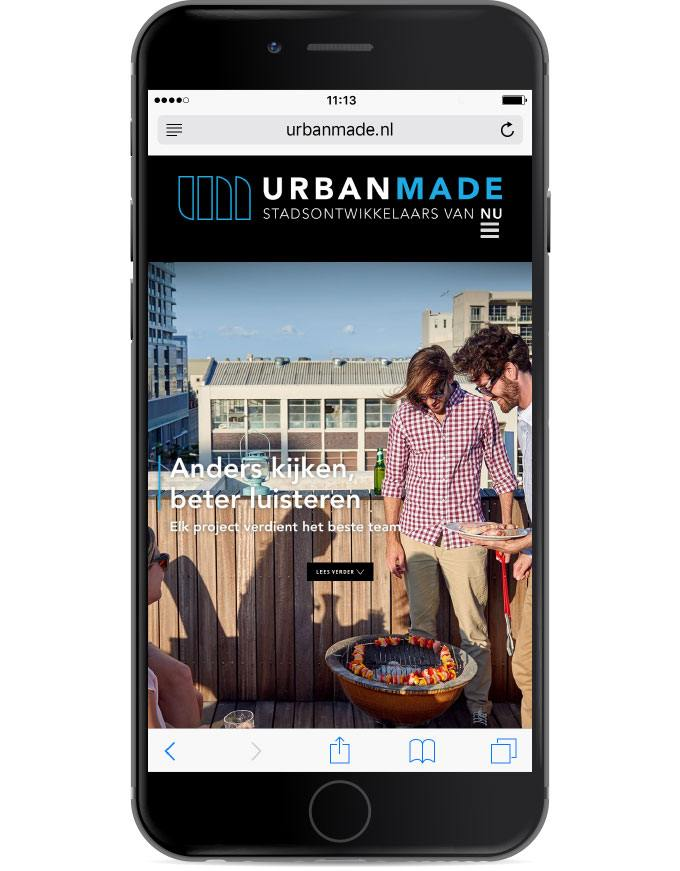 UrbanMade-website-mobile